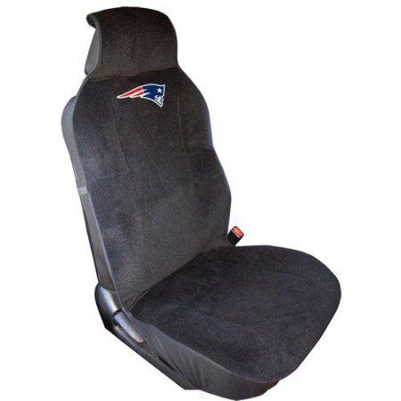 NFL Patriots Plush Seat Cover, Multicolor