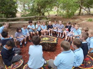 australian aboriginal yarning circle garden - Google Search