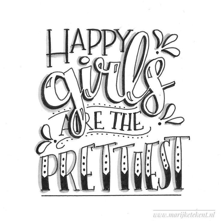 Dag 25 #dutchlettering van januari 2018. . . . . . . . . . . . #typography #calligraphy #brushcalligraphy #brushlettering #quote #lettering #letterart #handdrawn #handwritten #handmadefont #handletteren #handlettering #dutchletteringchallenge #draw #drawing #tekenen #tekening #sketch #doodle #typspire #typedaily #dlshappy