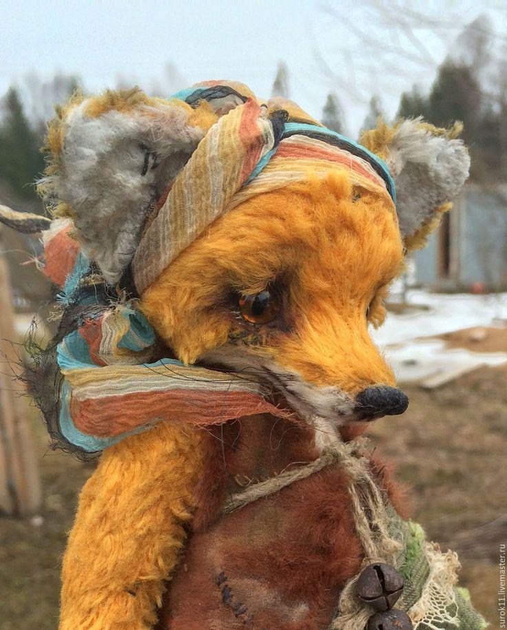 Купить Лукерья - рыжий, лиса, лиса тедди, лисичка игрушка, лисичка, лисичка…