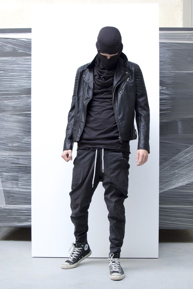 Blackfashion Blog Facebook Puksies Wardrobe Tumblr: All Black Streetwear. #streetwear #allblack