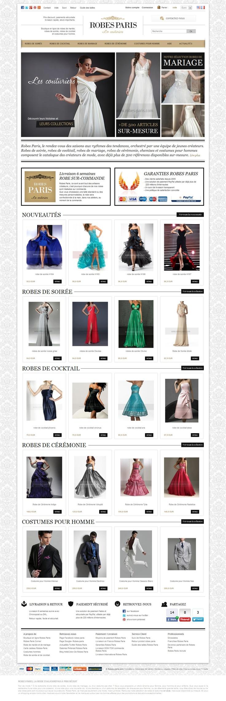 New dresses on robes-paris.com and 5% discount on your first order !: De Robe, Dress, Robe De, Robe Paris News, Robe Paris Com, La Robe, Robes Paris News, Robes Parise Com