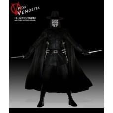 V de Vendetta Miniatura 30cm. $32007