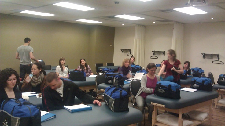 CCMH Start of Term Orientation, spring 2013: a great group!
