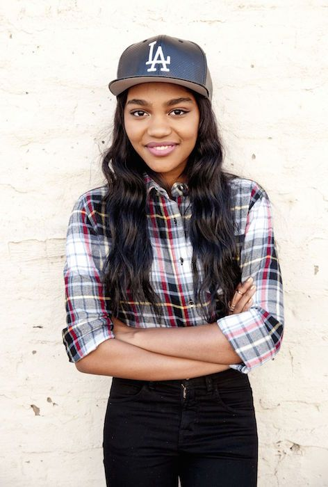 China Anne McClain during a photoshoot for Bop and Tiger Beat Knott's Berry Farm in December 2014....