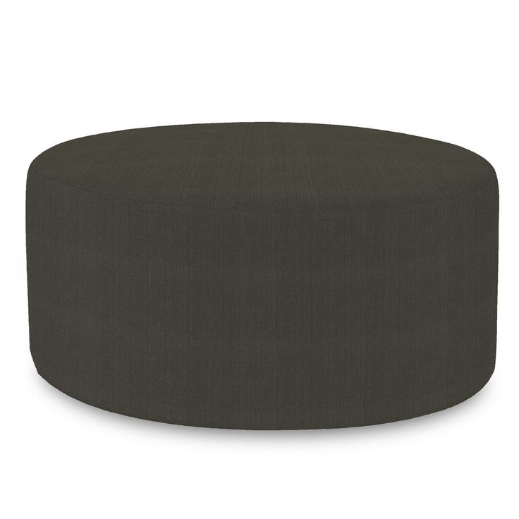 Sterling Charcoal Universal 36 Quot Round Ottoman Trending