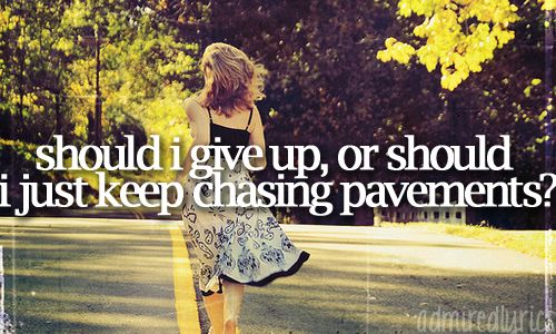 Chasing Pavements - Adele ♥