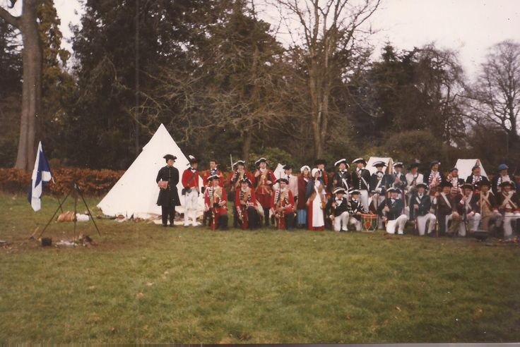 Event in Devon with theQueens Rangers Royal Ecossais and 35th - early days