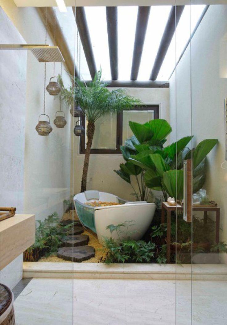 Jardim de inverno: um toque verde ao seu lar (Fotos)