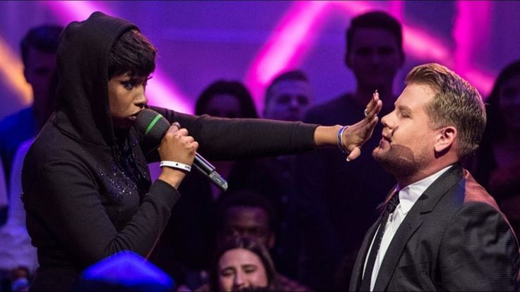 Jennifer Hudson & James Corden Face-Off In EPIC Rap Battle