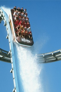 Perilous Plunge at Knott's - but almost any amusment park is worthwhile! .#AGSummerfade