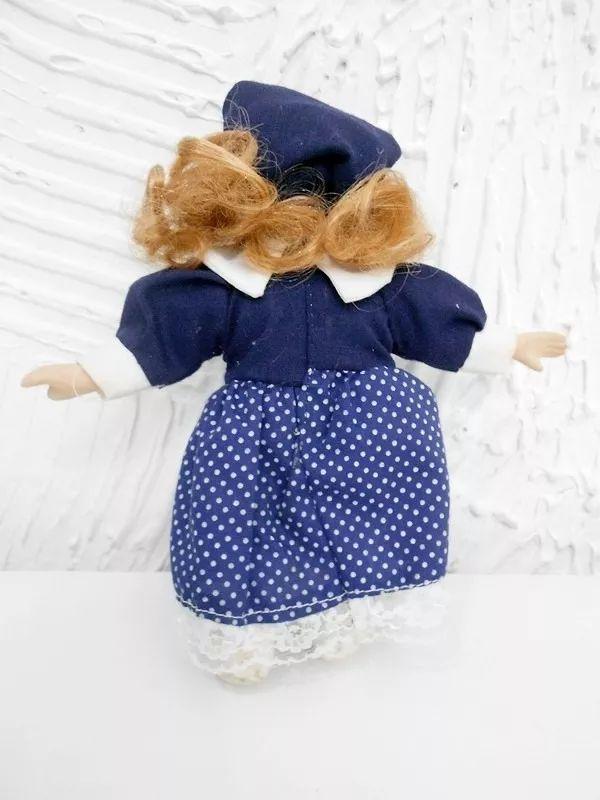 Boneca De Porcelana Antiga / Coleção 20cm #porcelana #boneca - R$ 24,90 em Mercado Livre