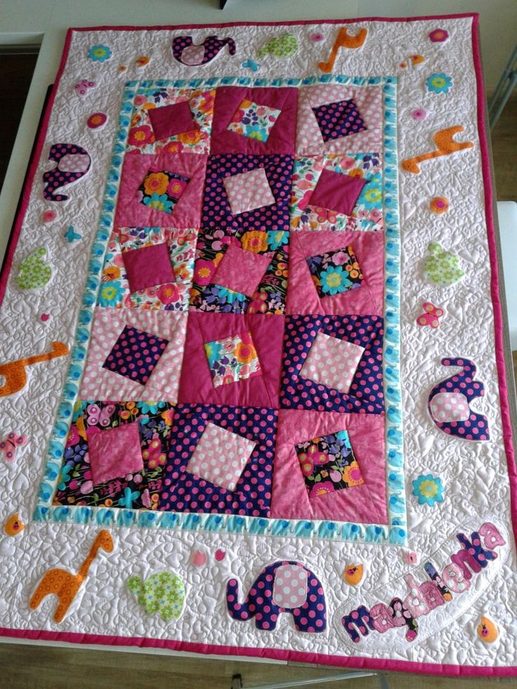 1423 best Baby Quilts images on Pinterest | Blankets, For kids and ... : childrens patchwork quilt - Adamdwight.com