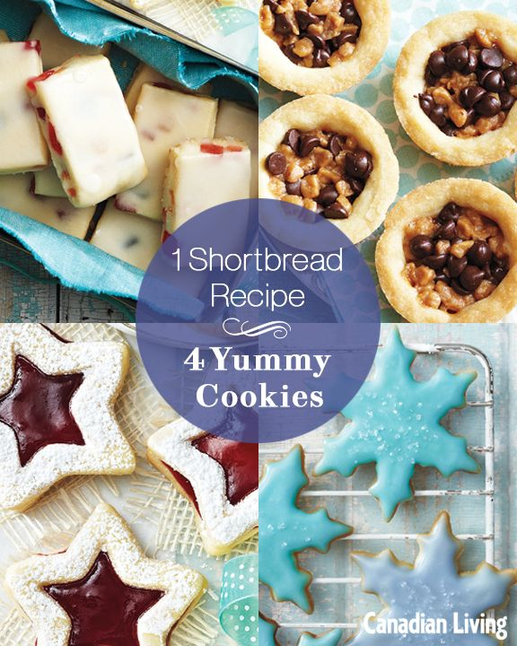4 festive shortbread recipes