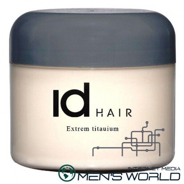 Воск для волос Воск Extreme titanium от Id Hair, позволяет легко сформировать задуманную прическу и надежно ее зафиксировать в течение всего дня.