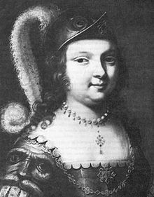 Françoise-Marie Jacquelin (1602 – 1645) was an Acadian heroine and wife of Charles de Saint-Étienne de la Tour. In 1640 she sailed from France to Port Royal and quickly became involved in the Acadian Civil War. She evaded a blockade, returned with a warship laden with supplies, assumed command of the garrison, refused to surrender, and led a pitched battle to defend the fort. She died three weeks after surrendering.