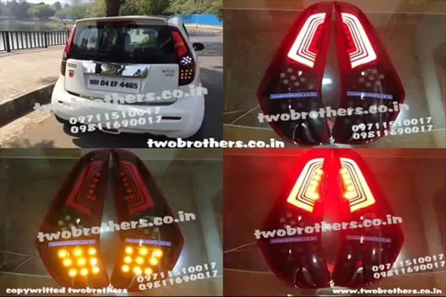 Innova Projector headlamps | projector lights |   Aftermarket headlights | LED Tail Lights | Bixenon projector headlights | Projector Headlamps India | top car light in Delhi | Fabia Bmw Style LED Tail Light