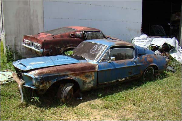 Abandoned Muscle Cars Muscle Cars In Barns Fields And