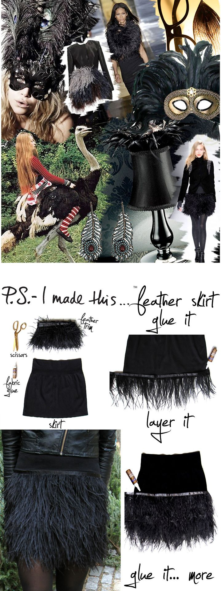 Birds of a feather flock together! I teamed up with Who What Wear for a DIY that I'm DIY-ing over. This season were seeing flirty an...