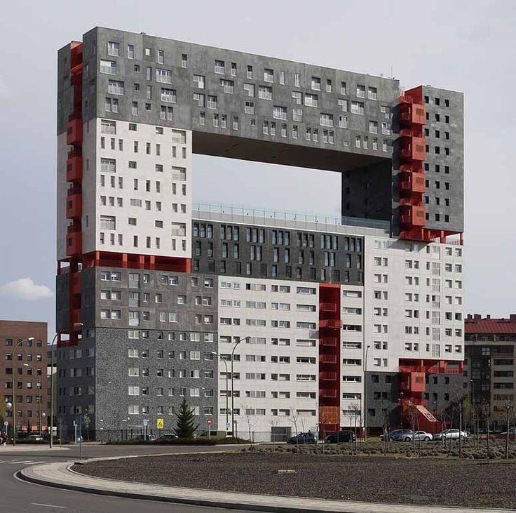 Edificio Mirador, Madrid - den fulaste byggnaden i Spanien