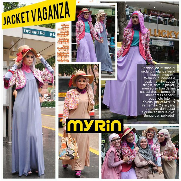 Jacketvaganza . Colorful Jacket comes in lovely motive