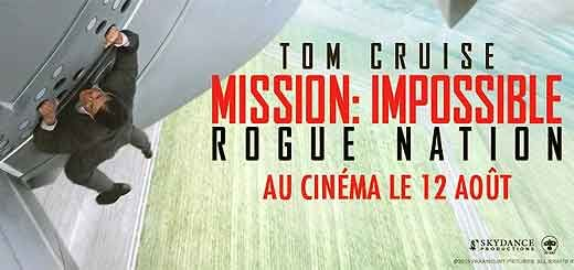 Mission: impossible - Rogue Nation film de Christopher McQarrie avec Tom Cruise, Simon Pegg, Jeremy Renner, Rebecca Ferguson. MI-5 le…