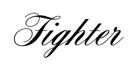 Fighter tattoo, I would get this on my wrist