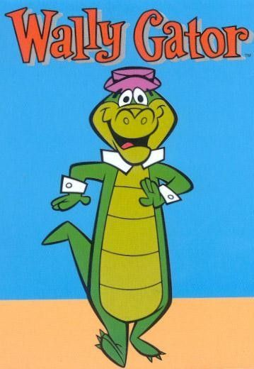 Wally Gator. A swinging alligator from the swamp.