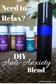 Essential oils for stress and anxiety!! This is a simple and amazing! It smells so good! #anxiety #essentialoils