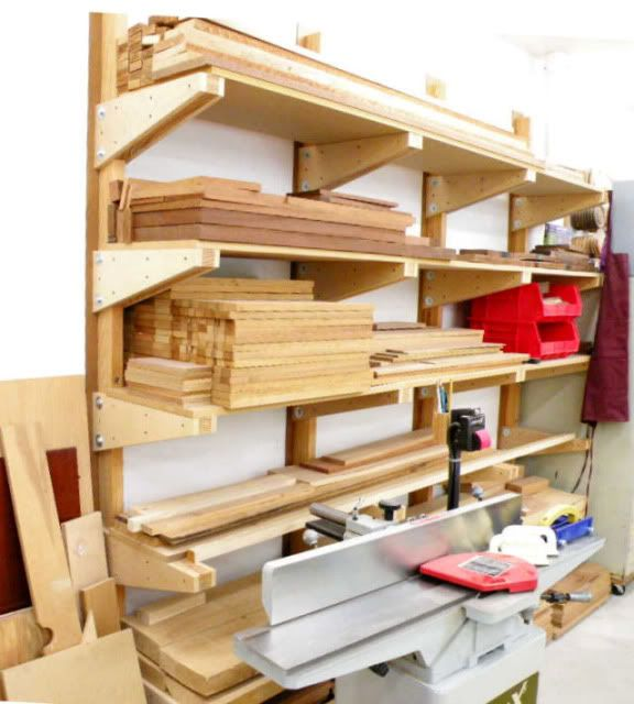 Works For Me #1: Lumber Rack   By Dave Owen @ LumberJocks.com. Lumber Storage  RackLumber RackWood ...