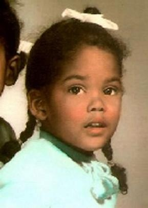 A childhood/baby photo of Halle Berry. http://celebrity-childhood-photos.tumblr.com/