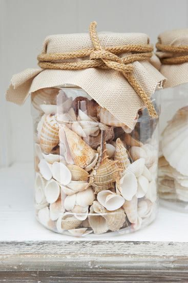 I have tons of shell to fill many jars