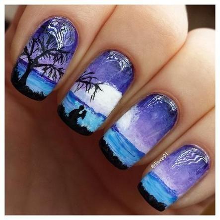 amazing nail art   See more at http://www.nailsss.com/...    See more nail designs at http://www.nailsss.com/nail-styles-2014/