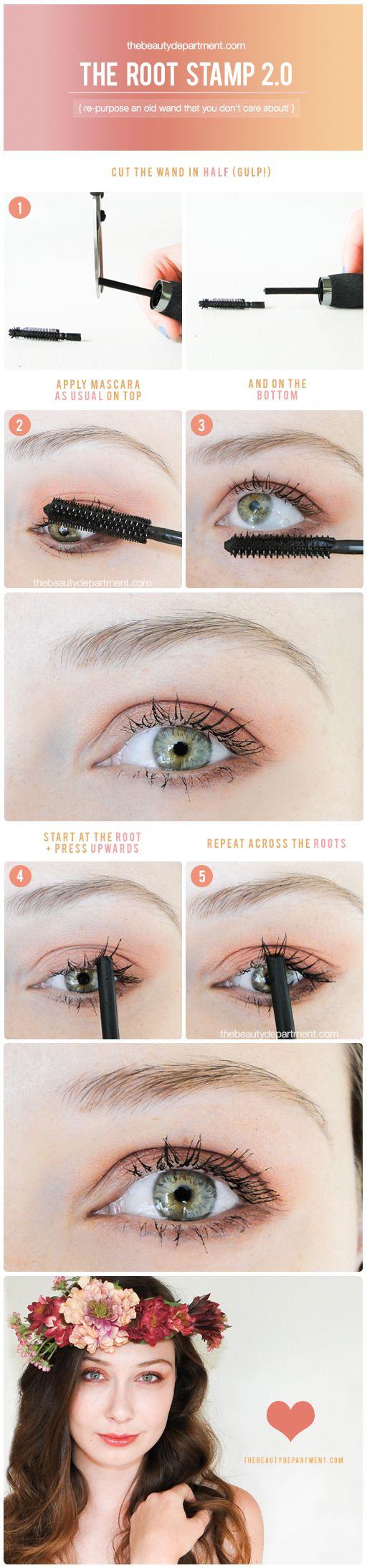 how to clean old mascara wand