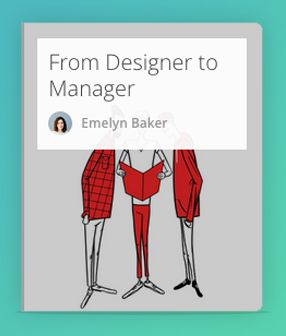 Find yourself leading a design team? Here's your lifeboat.  #Design #Management