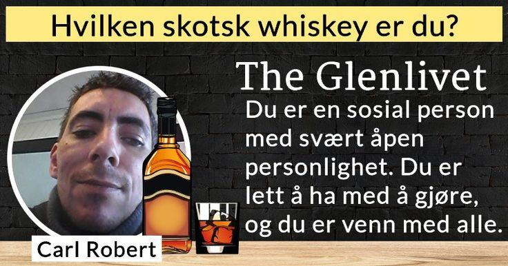 Hvilken skotsk whiskey er du?