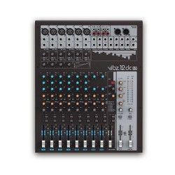 LD Systems VIBZ 12 DC 12 Channel Mixing Console with DFX and Compressor