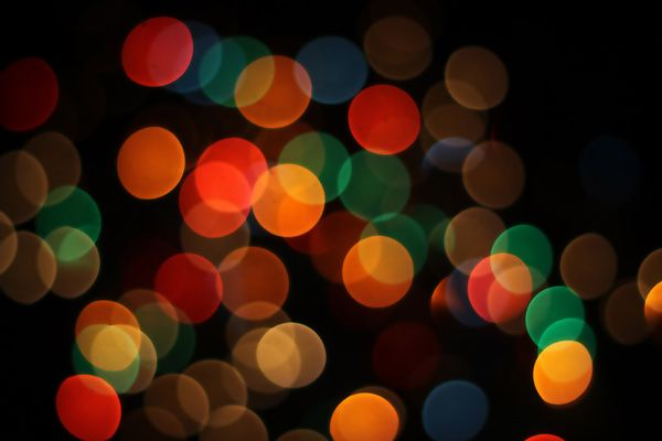 Bokeh Effects Pack – 42 Free Images