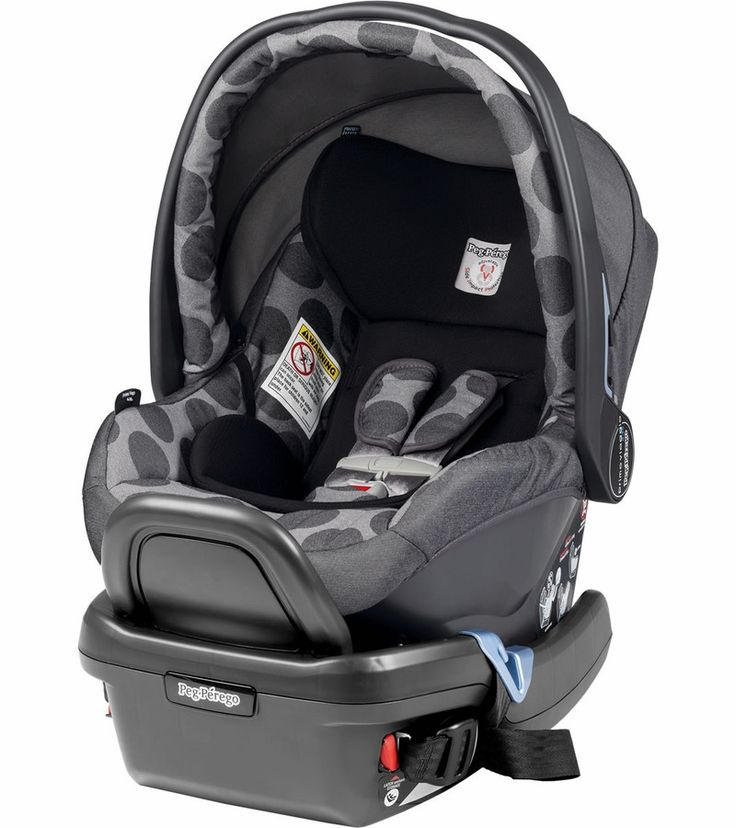 "Peg-Perego's newest rear facing infant car seat for babies 4 to 35 lbs. and up to 32"" tall, the Primo Viaggio 4-35 takes the Peg Perego experience in child restraint systems to a new and improved level of safety and design."