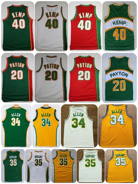 e716ca2c215 Selecting cheap throwback seattle supersonics basketball jerseys retro the  glove 20 gary payton reign man 40