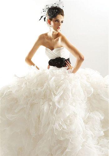 Dress: Wedding Dressses, Jasmine Couture, Wedding Dresses, Black White Weddings, Couture Bride, Gowns, Jasmine Bridal, Beautiful Dresses, Beautiful Thi Dresses