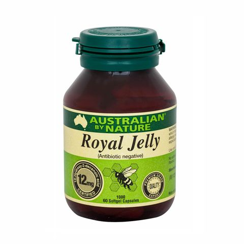 Royal Jelly 1000mg – Australian by Nature – 60 Capsules | Shop Australia