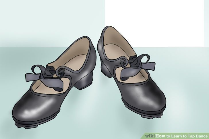 Image titled Learn to Tap Dance Step 1