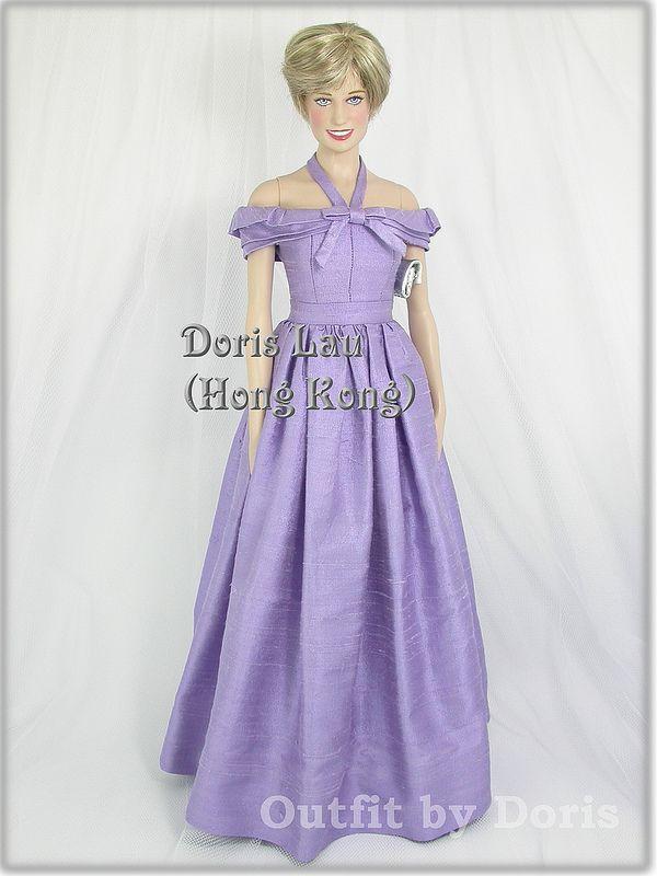 Lujoso Princesa Diana Muñeca En Vestido De Novia Colección - Ideas ...