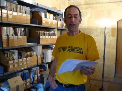 Peter apoya a las bibliotecas públicas