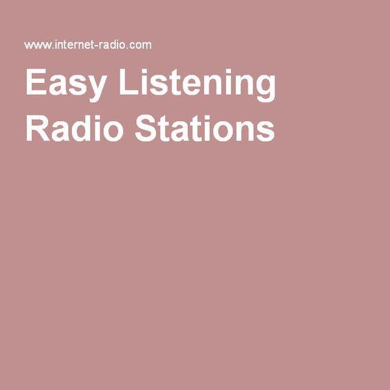 Easy Listening Radio Stations