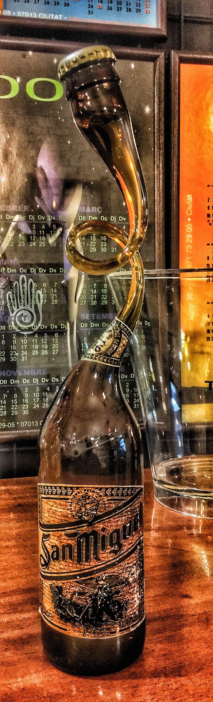 """Cerveza San Miguel, una botella muy """"especial"""""""