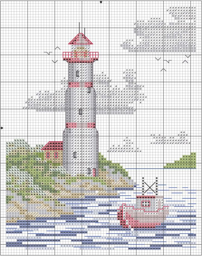 Cross Stitch Designs With Instructions Crazy for cross stitch