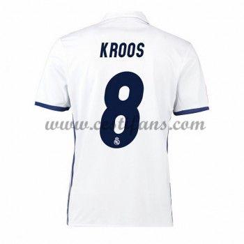 Real Madrid Fotbalové Dresy 2016-17 Kroos 8 Domáci Dres