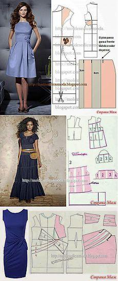Ottimo sito con il modello abiti diversi modelli.: Blog di gruppo & quot; degli studenti - pro cucire & quot;  - Casa Moms
